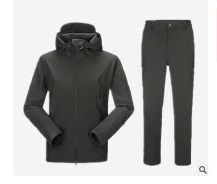 Warm, Windproof Soft Shell Jacket + Soft Shell Pants