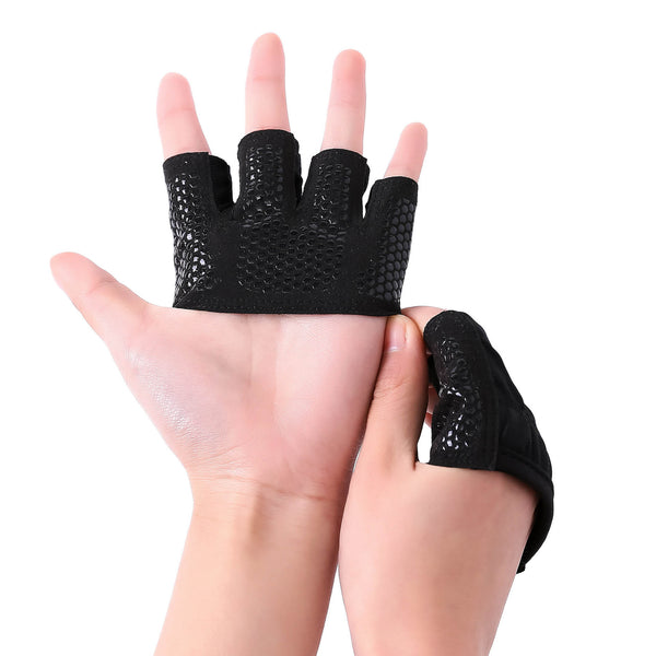 Fitness half finger gloves