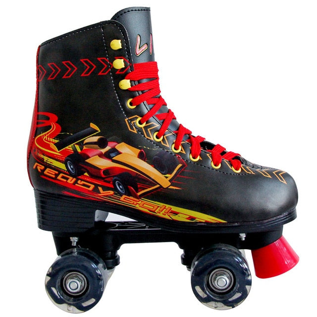 Children's Balanced Beginner's Roller Skates with LED Light wheels
