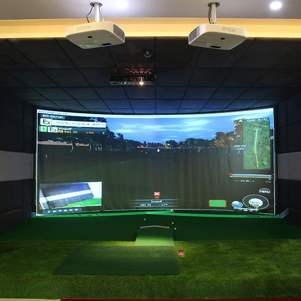 300cm x 200cm White Training Impact Projection Screen Golf Target
