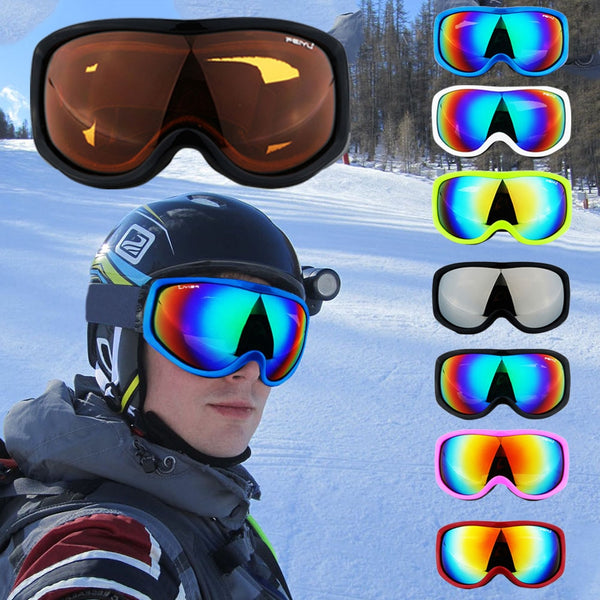 Men Women UV Protection Cycling Snowboard Ski Outdoor Adjustable Glasses