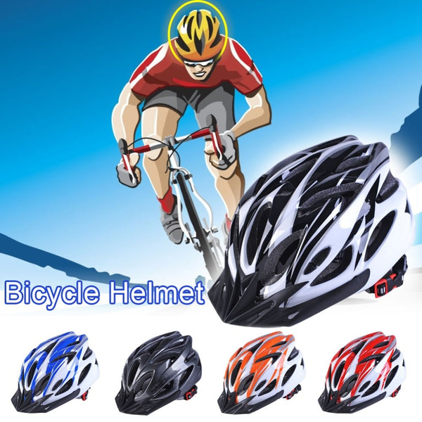 Ultralight Adjustable Racing Mountain Road Cycling Helmet