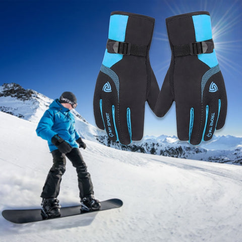snow gloves Waterproof Windproof Anti-slip Outdoor Sports Thermal Ski Snow Touchscreen Glove