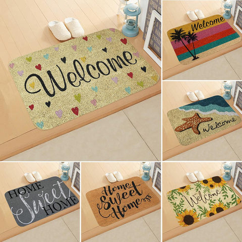 1PC 40*60CM Rectangle Non-Slip Door Mat