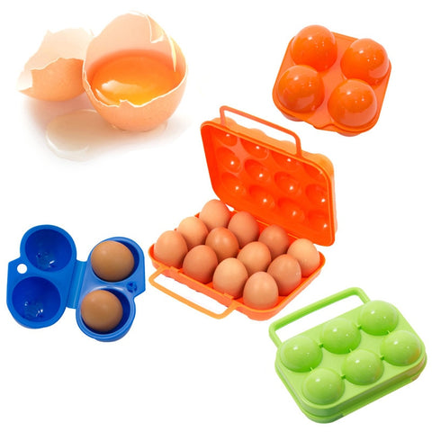 Camping, Hiking, Travel 12 Count Egg Carry Box