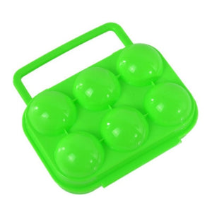 Portable Camping Picnic BBQ Egg Container
