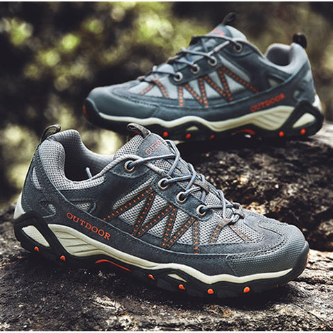 Non-Slip, Breathable, Tactical, Climbing, Hiking, Walking, Unisex Plus Size Shoes