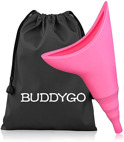 Buddygo Unisex Women's Stand Pee Funnel urinal bag