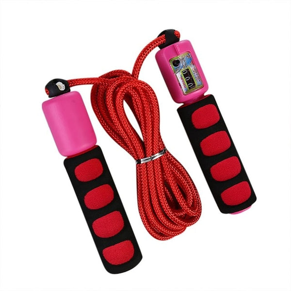 Jump Ropes with Adjustable Fast Speed Counting