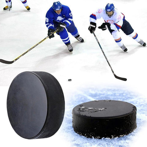 Blank Official Regulation Rubber Black  Spare 30DC10 Hockey Puck