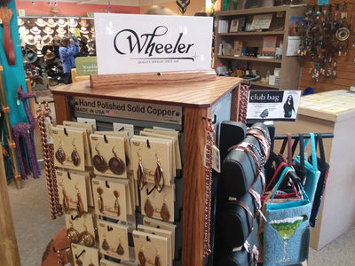 Brand: Wheeler Made in North Dakota / Style: Earrings necklaces and Bracelets