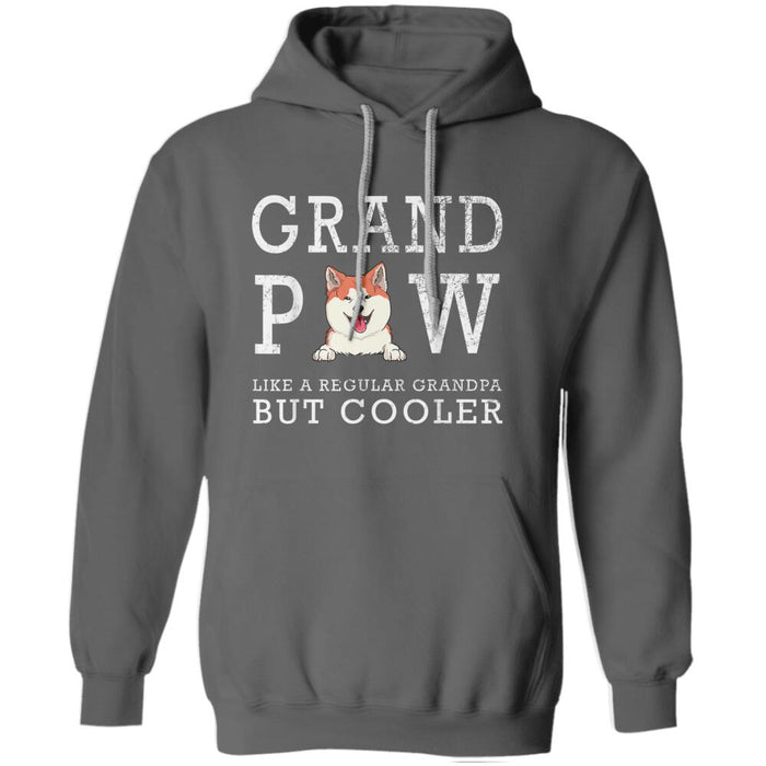 """Cooler Grand Paw"" dog personalized T-Shirt"