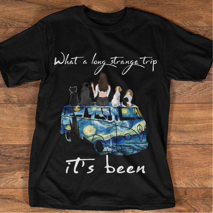 Van Go With Pets personalized Shirt. TS105