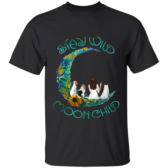 Stay Wild Moon Child personalized Shirt. TS128