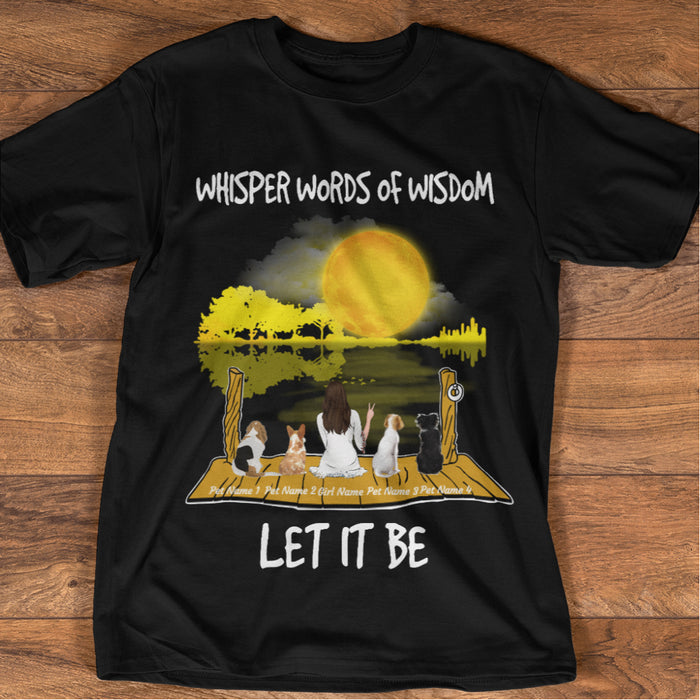 Whisper Words Of Wisdom personalized Shirt. TS130