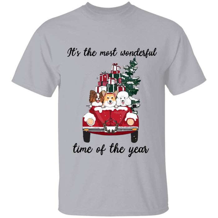 The Most Wonderful Time Of The Year personalized Shirt. TS150