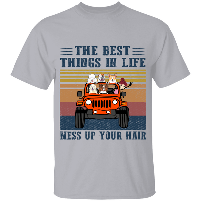 The Best Thing In Life personalized Shirt. TS206