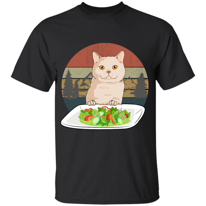 Salad Cat personalized Shirt. TS251