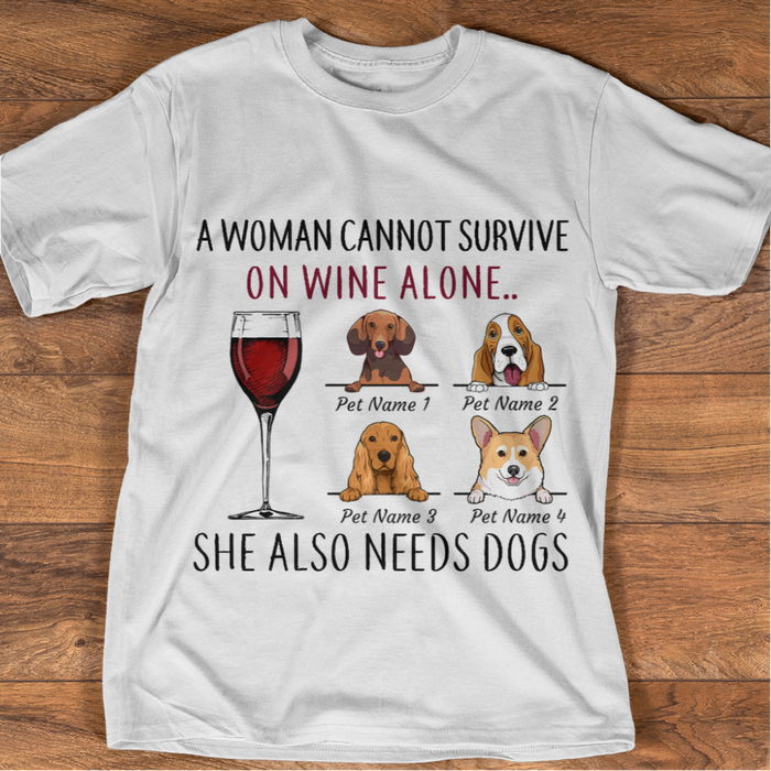 Survive With Dogs And Beer personalized Shirt. TS85