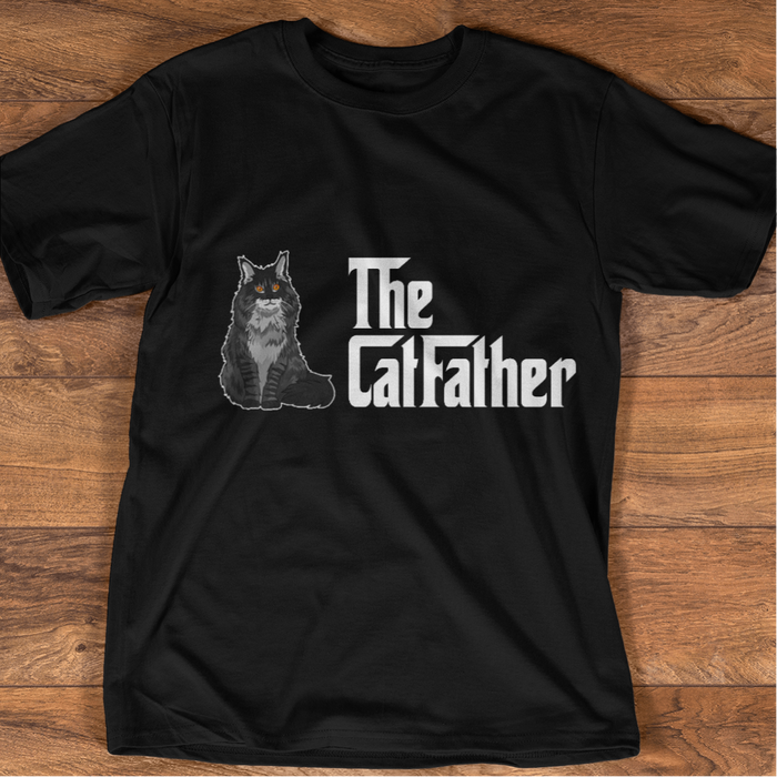 The Cat Father personalized Shirt. TS227