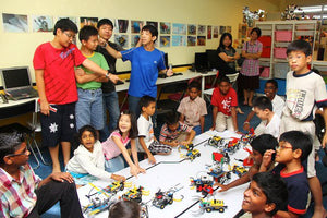 Robotics with CR8 - Bukit Rimau