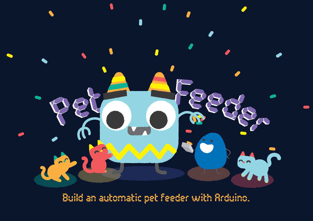 Dekoded Box: Build your own Auto Pet Feeder