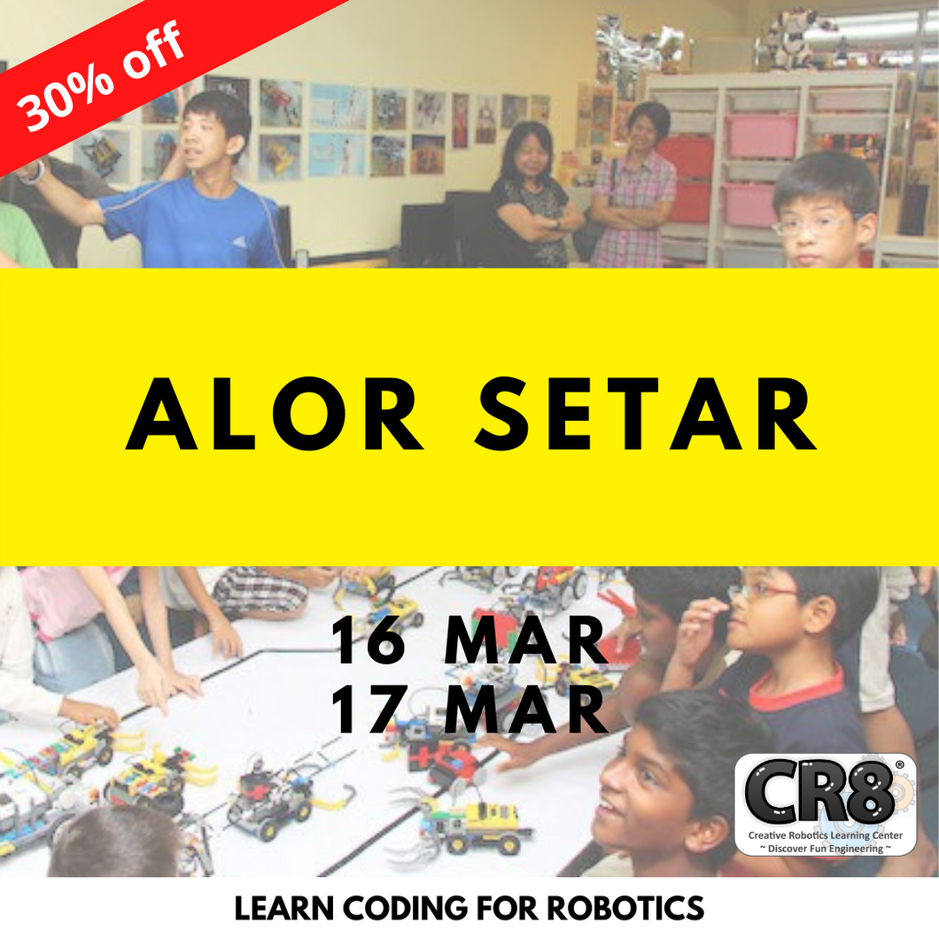 Robotics with CR8 - Alor Setar