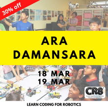 Load image into Gallery viewer, Robotics with CR8 - Ara Damansara