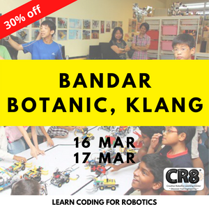 Robotics with CR8 - Bandar Botanic