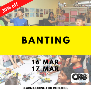 Robotics with CR8 - Banting