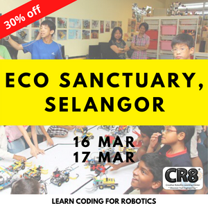 Robotics with CR8 - Eco Sanctuary