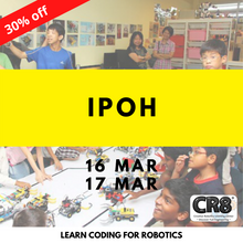 Load image into Gallery viewer, Robotics with CR8 - Ipoh