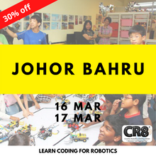 Load image into Gallery viewer, Robotics with CR8 - Johor Bahru