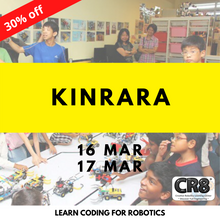 Load image into Gallery viewer, Robotics with CR8 - Kinrara