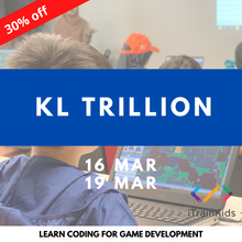 Load image into Gallery viewer, Game Development with iTrainKids - KL Trillion
