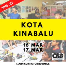 Load image into Gallery viewer, Robotics with CR8 - Kota Kinabalu