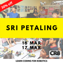 Load image into Gallery viewer, Robotics with CR8 - Sri Petaling