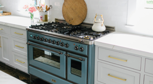 Blogger Jacqueline Hempel creates dream kitchen using the beauitful ILVE Majestic