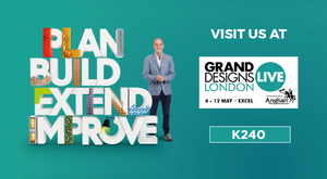 Brand New Products at Grand Designs Live 4th – 12th May London Excel