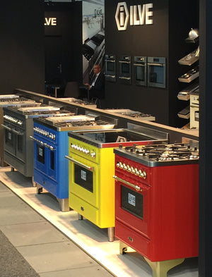 ILVE introduces a new colour matching service for range cookers