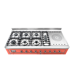 ILVE UK 2019 Majestic Milano Gas hob Coral