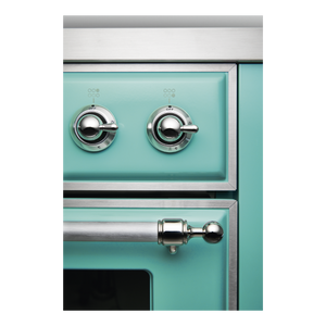 ILVE UK 2019 Majestic Milano Close Up Turquoise