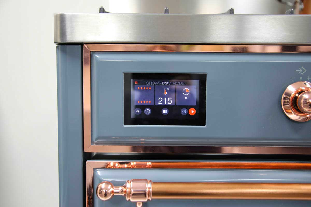 Photo of ILVE Majestic Range Cooker with TFT touch screen control
