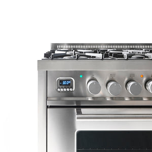 ILVE UK 2019 Roma Range Cooker Close Up