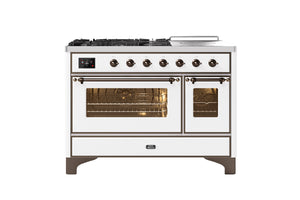 NEW: 120cm Majestic Milano Coup De Feu Double Oven Dual Fuel Range Cooker Coming Soon