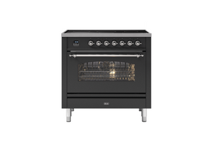NEW: 90cm Milano Induction Single Oven Electric Range Cooker