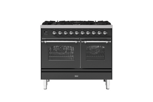 NEW: 100cm Milano 6 Burner Double Oven Dual Fuel Range Cooker
