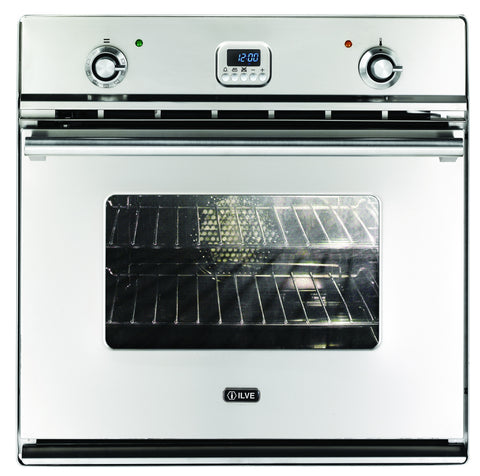 60cm Roma Single Built-In Pyrolytic Oven Stinless Steel ILVE