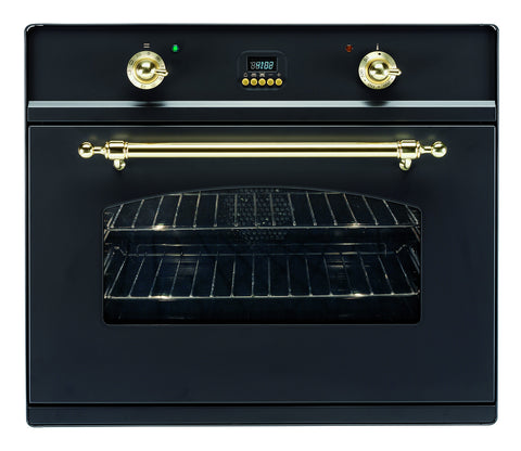 Matt Black Single Built-In Oven