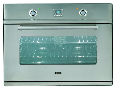 80cm ILVE Roma Single Built-In Oven Stainless Steel